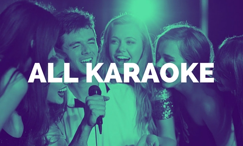 all karaoke music category