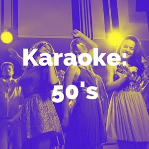 50's karaoke categories