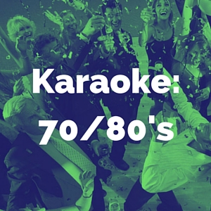 70's and 80's karaoke category
