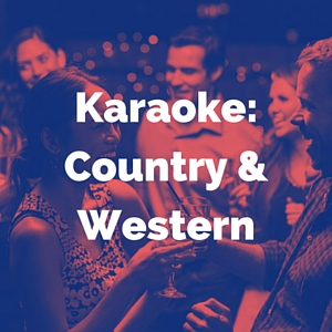 country and western karaoke category