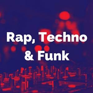 rap, techno and funk category