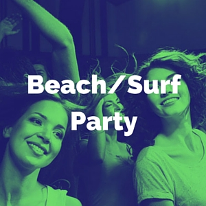 beach and surf party music category