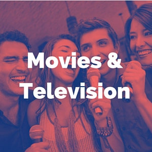 movies and television music category