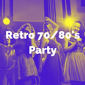 retro 70s/80s party category