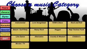 Categories - Genre