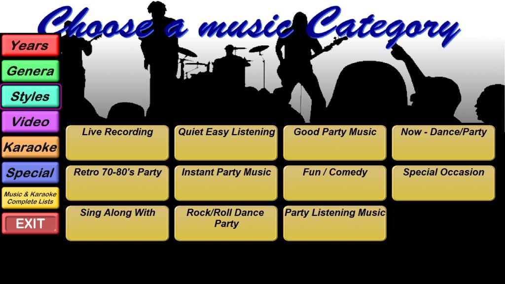 Categories - Styles