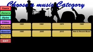 Categories - Years