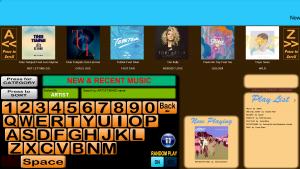 Music List demo