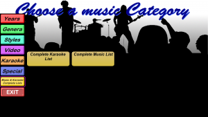 Categories - Karaoke + Music