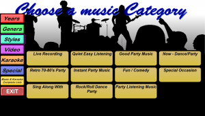 Categories - Styles
